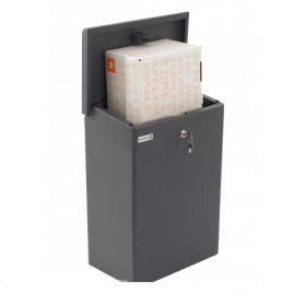 Cutii postale cu spatiu mare de stocare cu kit de montare inclus Delicias LOG 2