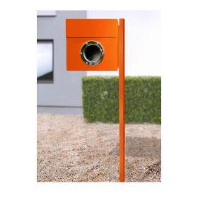 Cutii postale cu stativ din otel acoperit cu nichel inclus Riogrande LET