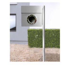 Cutii postale cu stativ din otel acoperit cu nichel inclus Riogrande LET 3