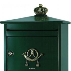Cutii postale spatioase cu incuietoare cilindrica Zapopam BRA
