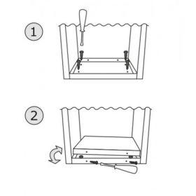 Casuta postala cu suport pentru bloc si apartament cu 5 cutii postale individuale Pansy IOS 7